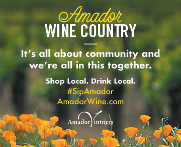 Amador Vintners' Association (Tasting rooms OPEN, online, pickup, delivery cont.)