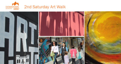 2nd Saturday Art Walk - June 2017