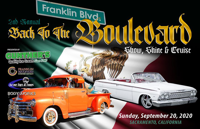 Back to the Boulevard - Show, Shine & Cruise 2020