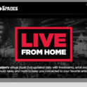 LIVE FROM HOME - Live Nation's virtual music hub
