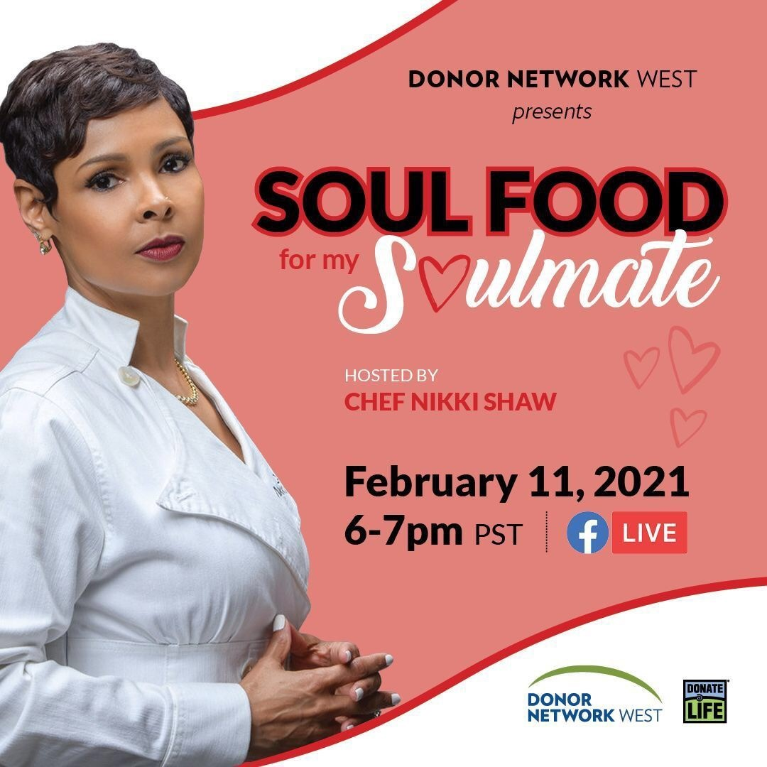 Soul Food for My Soulmate (virtual cooking show)