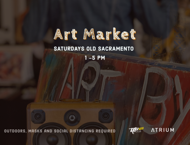 Upcycle Pop Market @ The Atrium (in person or online)