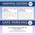 Warming Centers and Safe Parking