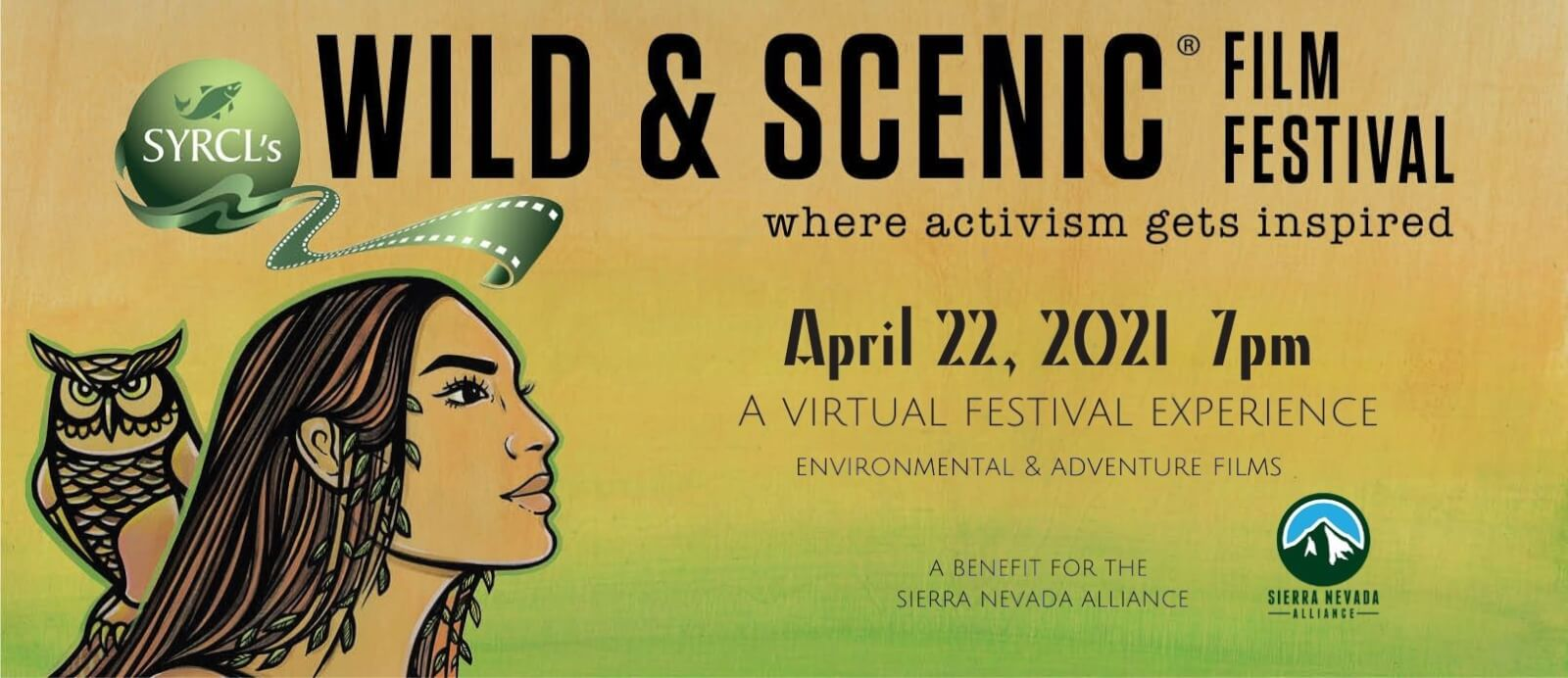 Sierra Nevada Alliance: Wild & Scenic Film Festival [VIRTUAL]