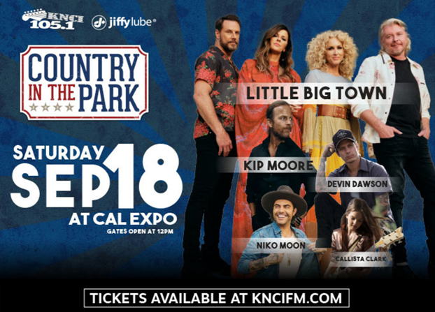 Country in the Park 2021 @ Cal Expo (in person)