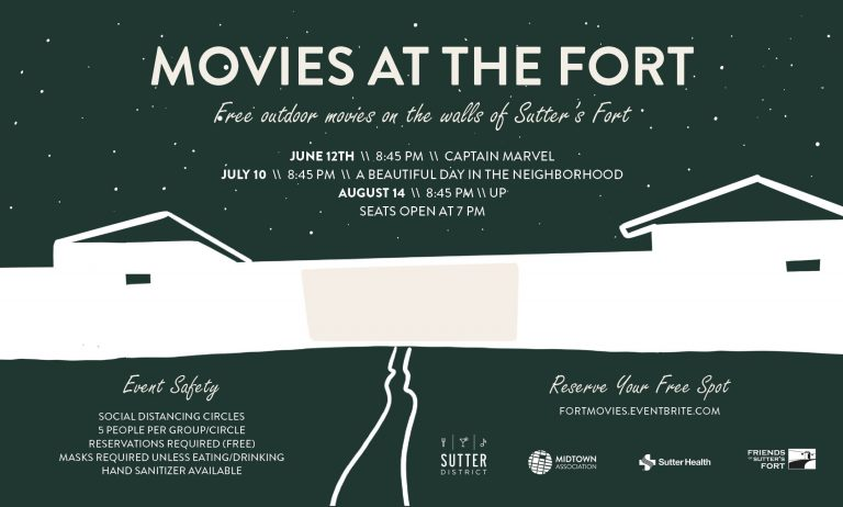 Sutter's Fort: Movies @ The Fort
