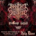 Inanimate Existence LIVE @ Holy Diver