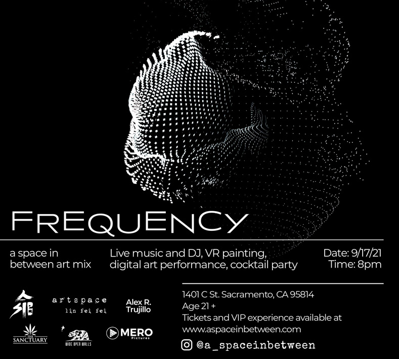 FREQUENCY Art Mix @ a space in between (Wide Open Walls 2021)