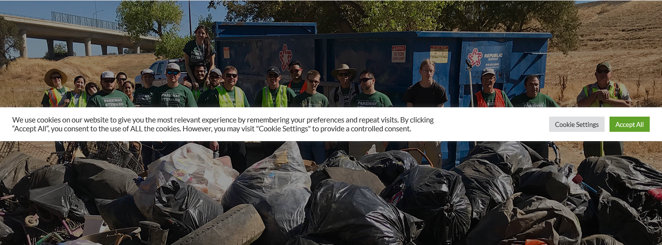 American River Parkway Foundation: Clean Ups