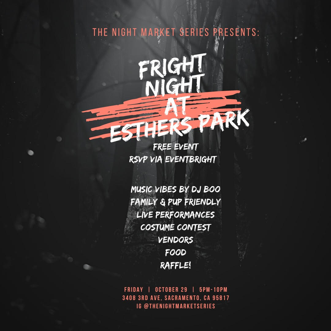 The Night Market Series: Fright Night at Esther's Park